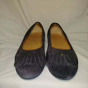 Talbots Flat Suede Loafer